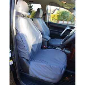 TOYOTA LAND CRUISER – LANDCRUISER LC150 FRONT SEAT COVERS GREY