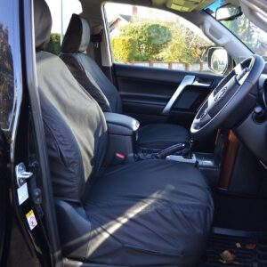 TOYOTA LAND CRUISER – LANDCRUISER LC150 FRONT SEAT COVERS BLACK