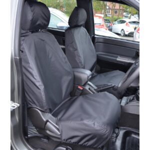 GREAT WALL STEED FRONT SEAT COVERS - BLACK