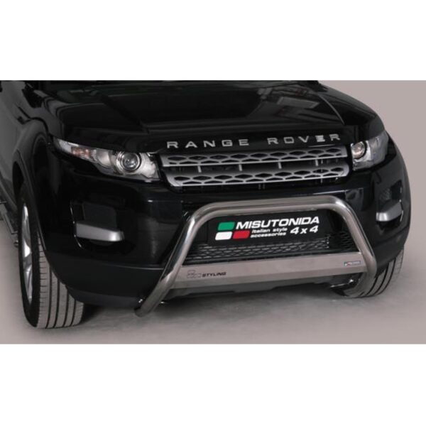 RANGE ROVER EVOQUE FRONT A-BAR STAINLESS 63MM