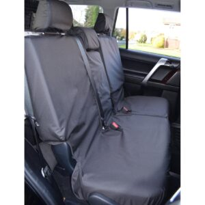 TOYOTA LAND CRUISER – LANDCRUISER LC150 REAR SEAT COVERS BLACK