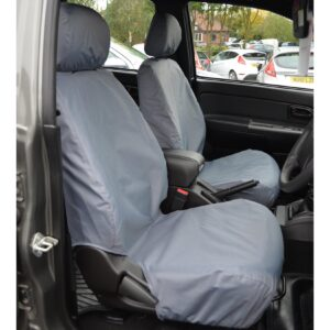 GREAT WALL STEED FRONT SEAT COVERS - GREY