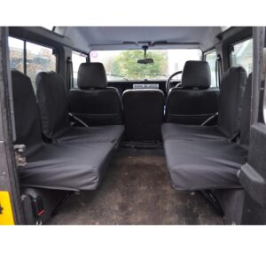 LAND ROVER DEFENDER 1983-2007 90 110 DICKIE SEAT COVERS