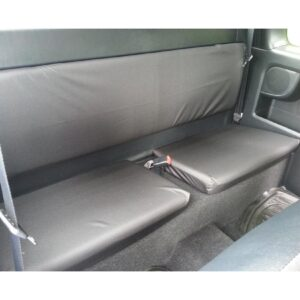 TOYOTA HILUX EXTRA CAB REAR SEAT COVERS BLACK