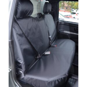 GREAT WALL STEED REAR SEAT COVERS - BLACK