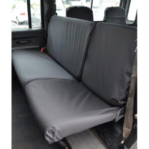 LAND ROVER DEFENDER REAR SINGLE DOUBLE SEAT COVERS
