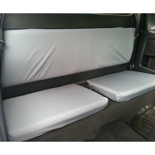 TOYOTA HILUX EXTRA CAB REAR SEAT COVERS GREY