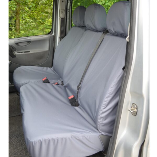 TOYOTA PROACE 2013-2016 SEAT COVERS GREY