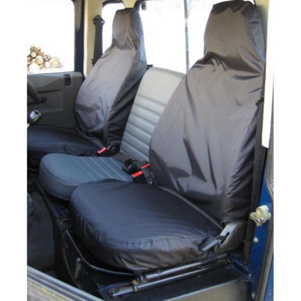 LAND ROVER DEFENDER 90 / 110 SEAT COVERS 1