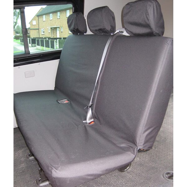 VW TRANSPORTER REAR BENCH SEAT COVERS 1