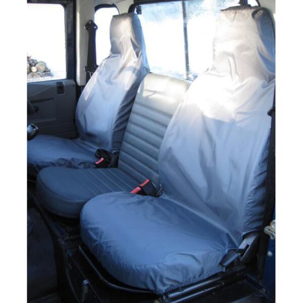 LAND ROVER DEFENDER SEAT COVERS 2