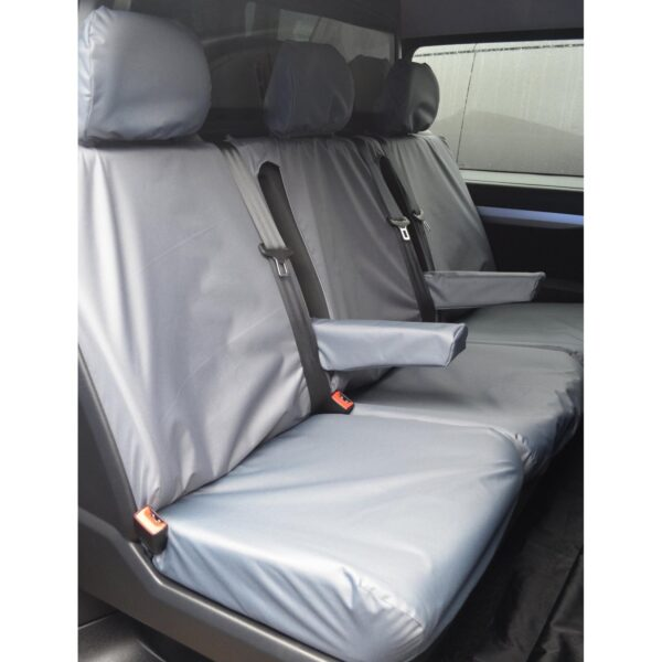 TOYOTA PROACE PASSENGER SEAT COVERS GREY