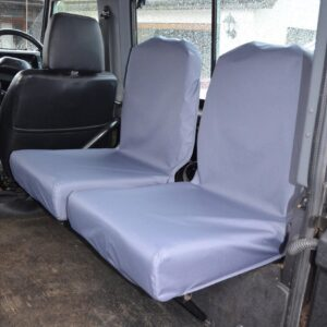 LAND ROVER DEFENDER 90 110 FOLDING SEAT COVERS GREY