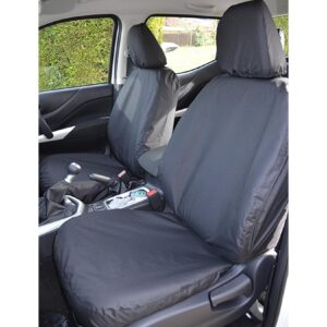 MERCEDES X-CLASS FRONT SEAT COVERS - BLACK