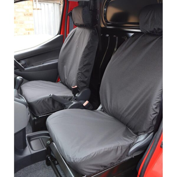 NISSAN NV200 2009 ON DRIVER AND PASSENGER SINGLE SEAT COVERS
