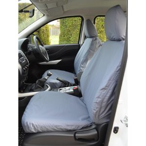 MERCEDES X-CLASS FRONT SEAT COVERS - GREY