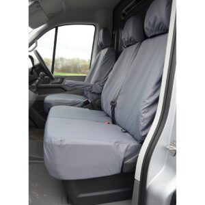 VOLKSWAGEN CRAFTER 2010-2017 FRONT SEAT COVERS GREY