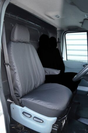 Ford Transit 2000-2013 Single Driver Seat-Black
