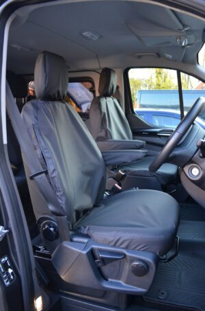 Ford Transit 20014 on Seat Covers - Black