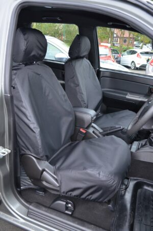 Isuzu Rodeo Black Seat Covers
