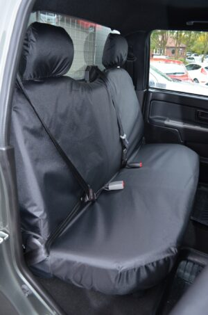 Ford Rodeo Rear Seat Covers - Black