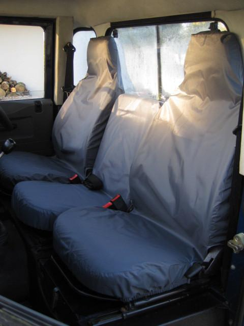 Land Rover Defender 90/110 Front 3 Seat Covers