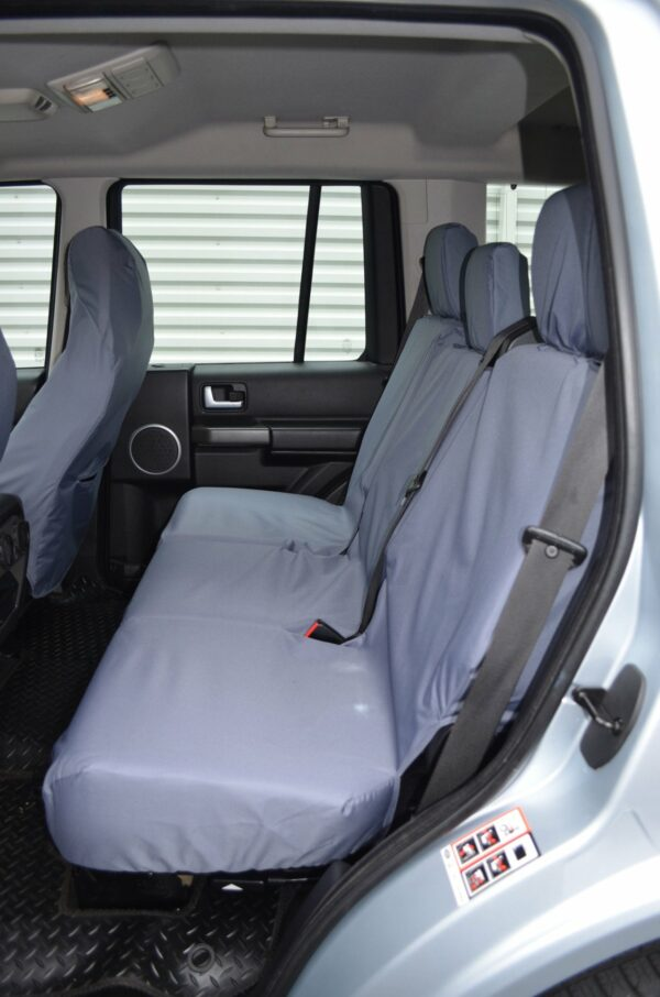 Land Rover Discovery 3/4 Rear Seat Covers - Grey
