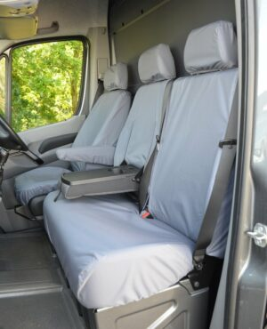 Mercedes Sprinter Front Seat Covers-Grey