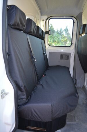 Mercedes Sprinter Quad Passenger Seat Covers - Black