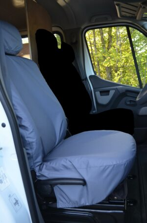 Renault Master Van 2010 on Driver Seat Cover - Grey