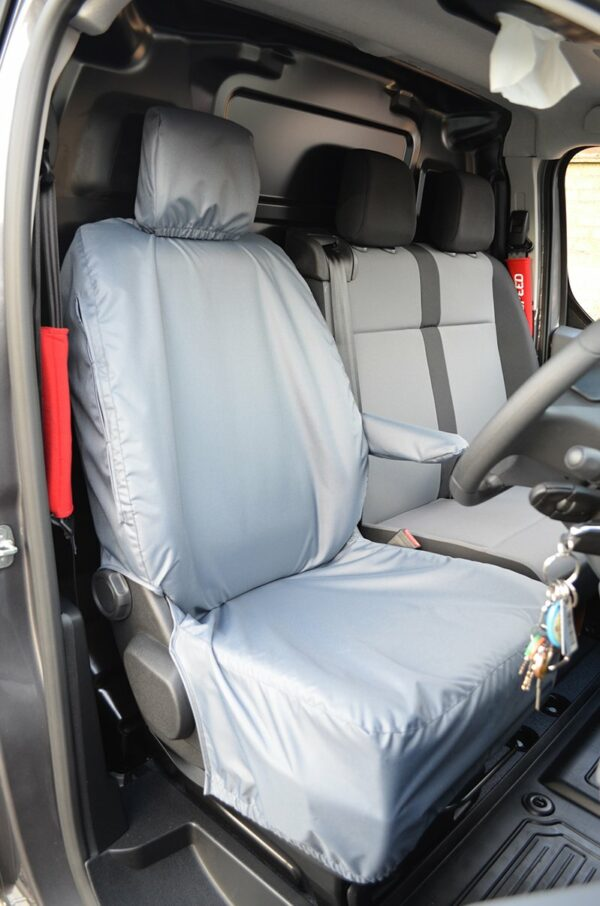 Toyota Proace 2016 on Driver Seat - Grey