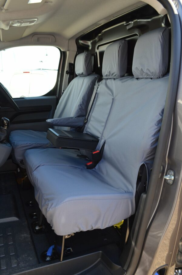 Toyota Proace 2016 on Front Seats with Worktray - Grey