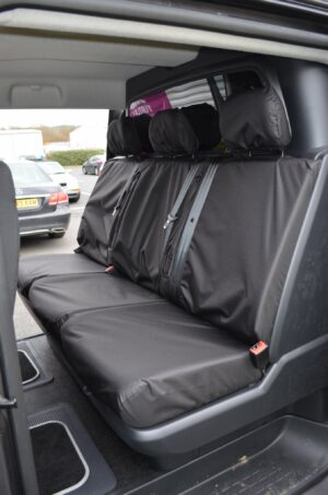 Toyota Proace 2016 on Rear Seat Covers - Black