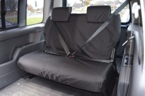 VW CADDY 3RD ROW PASSENGER SEATS - BLACK
