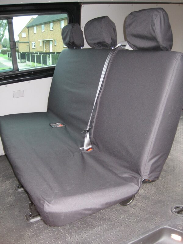 VW TRANSPORTER BENCH SEAT COVERS - GREY