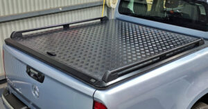 EGR SIDE RAILS FOR ALUMINIUM TONNEAU COVERS - PAIR - BLACK
