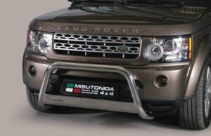 LAND ROVER DISCOVERY 4 FRONT A BAR - STAINLESS