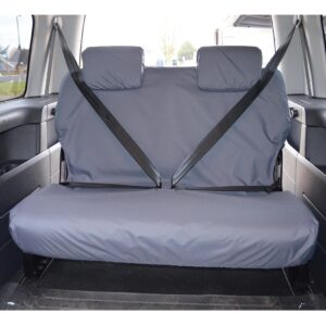 VW TRANSPORTER REAR SEAT COVERS DOUBLE GREY