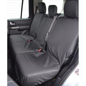 LAND ROVER DISCOVERY 3 4 REAR SEAT COVERS - BLACK