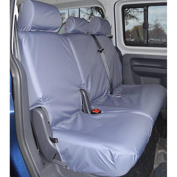 VW CADDY LIFE REAR SEAT COVERS GREY