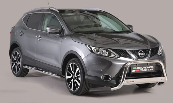 Nissan Qashqai Front A-Bar - Stainless