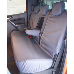 ford ranger rear seat covers - grey