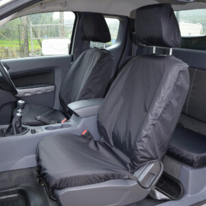 ford ranger wiltrak front seat covers - black