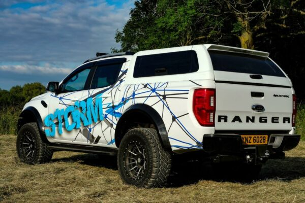 FORD RANGER T6 DOUBLE CAB 2012 ON VERT-X HARDTOP