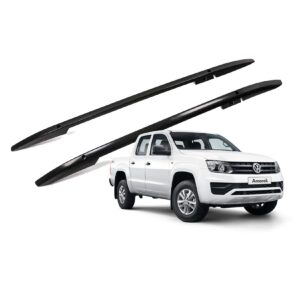 VW AMAROK ROOF RAILS - BLACK