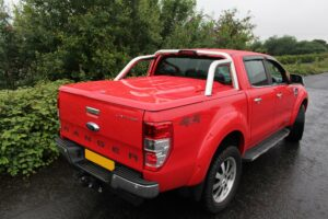 FORD RANGER T6 DOUBLE CAB 2012 ON EGR 3PC LID TONNEAU COVER