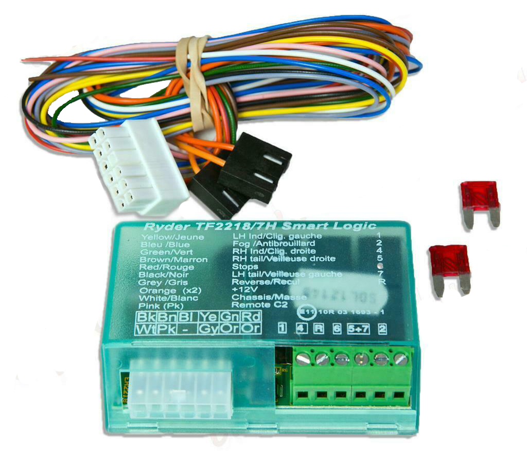 Towbar 7 Way Towing Electric Bypass Relay Wiring Kit