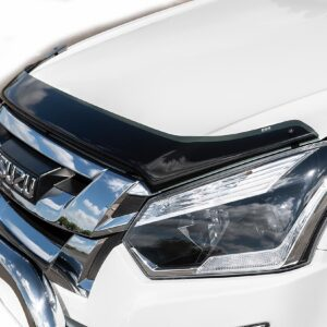 ISUZU D-MAX 2017 ON EGR BONNET GUARD PROTECTOR IN DARK SMOKE