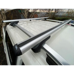 CROSS BARS - CROSSBARS - ROOF RAILS - UNIVERSAL FIT - 160 CM -SILVER