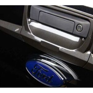 ford ranger tailgate trim cover - carbon look